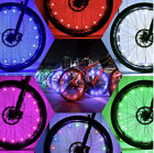 20 LED Bicycle Bike Cycling Rim Wheel Lights On Off Flash Spoke Light String