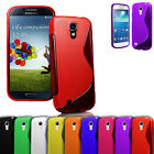 S Line Wave Silicone Gel Case Cover For Samsung Galaxy S4 Mini i9190