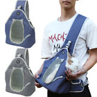 Cat Carry Sling Breathable Mesh Travel Safe Sling Bag Carrier for Dogs and Cats