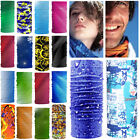 Unisex Bandana Head Face Mask Neck Gaiter Snood Headwear Beanie Color Tube Scarf
