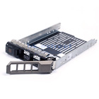 "2.5"" 3.5"" SAS HDD Tray Caddy Adapte For Dell PowerEdge R720 R710 R620"