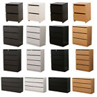 AVC Designs 2,3,4,6 Drawer Chest of Drawers Bedside Table Modern Bedroom Storage