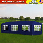 10'x30' Party Tent Canopy Pavilion Heavy Duty Outdoor BBQ Wedding Gazebo Events
