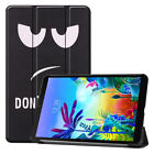 For LG G Pad 5 10.1 2019 Tablet Stand Flip Leather Shockproof Pattern Case Cover