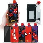 Spider Man Figure Mirror Card Case for Samsung Galaxy Note10 Note9 Note8