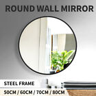 Wall Mirror Round Shaped Bathroom Makeup Mirrors Smooth Edge 50/60/70/80CM