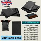 Postage Post Mail Self Seal Strong Grey Mail Bags Poly Postal All Size Cheap UK