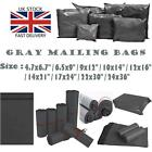 Grey Mailing Bags Strong Postage Post Poly Postal Mail Seal Self All Sizes Cheap