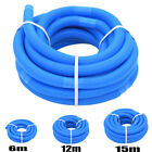 Swimming Pool Pipe Pool Hose for filter pumps skimmers Blue hose 38 mm 6m-15m
