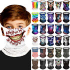 Kids Boys Balaclava Cycling Neck Tube Scarf Snood Biker Face Mask Warmer Bandana
