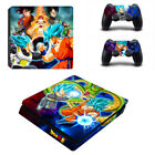 PS4 Slim Pro Dragon Ball Z Goku Vegeta Skin Decal Sticker for Console Remotes