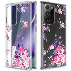 For Samsung Galaxy Note20/20 Ultra 5G Case Clear Slim Pattern Hard Phone Cover