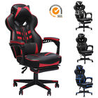 Kyпить GAMING CHAIR RACING COMPUTER LEATHER HIGH BACK RECLINER OFFICE DESK SWIVEL SEAT на еВаy.соm