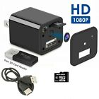 Mini USB Charger Camera Home Security 1080P Full HD Camcorder DVR Loop Record US