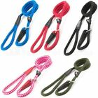 Ancol Dog Rope Slip Lead Soft Strong Nylon 8, 10 or 12mm - 5 Colours