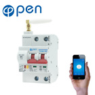 Wifi Automatic Remote Control MCB Smart circuit breaker. 2P with antenna signal