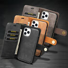 For iPhone 12 Mini / 12 / 12 Pro Max Case Leather Wallet Flip Credit Card Slots