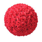 "6"" Silk Rose Pomander Flower Kissing Ball Wedding Centerpieces for Party Decor"