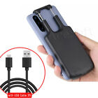 Universal Type-C Extended Backup Battery Case Cover 5000mAh Charger For LG Phone