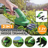 More images of 2 In 1 Rechargeable Cordless Grass Shear Lawn Mower Garden Pruning Hedge Trimmer