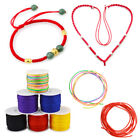 45 m/Roll Waxed Cotton Cord String Thread Rope Bracelet Jewelry Making Craft DIY