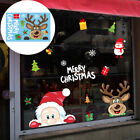 Christmas Party Home Decor Wall Stickers Pvc Stickers Glass Window Removable 1pc