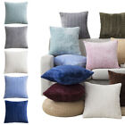 45cm Soft Velvet Throw Pillow Case Cushion Cover Solid Color Sofa Car Home Decor