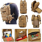 Outdoor Hiking Camo Army Bag Pack Military Hunting Camping Tactical Backpack