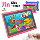 "7"" Wifi Android Tablet Pc Quad Core Kids Children Dual Camera Education Gift Usb"