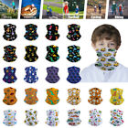 Kids Children Neck Gaiter Bandana Face Mask Neck Tube Scarf Balaclava Headband