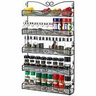3S Wall Mounted Spice Rack Organizer for Cabinet Pantry Door Assorted Colors