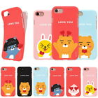 Kakao Friends Heart Soft Jelly Case for Apple iPhone XS Max XR XS X 8 8 Plus 7 6