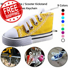 Motorcycle Bike Kickstand Enlarger Canvas Sneaker Tennis Shoe Keychain All Color