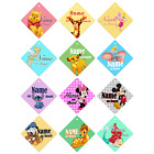 DISNEY PERSONALISED Your Name Car Windows Baby on Board Sign Sticker for Kids