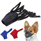 Dogs Muzzles PetsMouth Cover Mouthguard Biting Barking Chewing Training 12-24cm