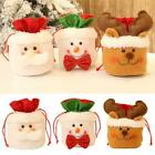 Christmas Candy Party Cute Gift Bag Decorations Storage Supply Packing V1s4