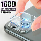 For iPhone 12 Pro Max FULL COVER HD Tempered Glass Camera Lens Screen Protector