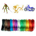 1/1.5/2mm 5m Colorful Aluminum Wire Cord Jewelry Making DIY Modeling Toys Craft