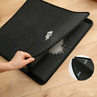 Double Layer Cat Litter Mat Trapper Foldable Pad Pet Rug EVA Foam Rubber Kitten