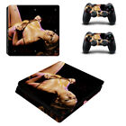 PS4 Slim Console Controllers Skin Decal Stickers Sexy Lady Woman Hot Girl Vinyl