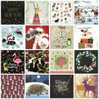 Christmas Paper Napkins (Packet x 20) Festive Designs Party Crafting Decoupage
