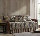 Chezmoi Collection Salem 5-Piece Forest Woods Pre-Washed Quilt Set, Daybed Cover