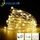 LED Silver Wire String Light Garland Home Christmas Wedding Party Decoration USB
