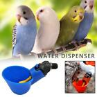 Poultry Water Drinking Cups Plastic Automatic Drinker Coop Feed Bird UK Q8Y0