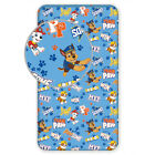 Paw Patrol Bed Sheet Bedsheet 90 x 200 9 13/16in