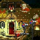 Christmas Lights Projector LED Laser Outdoor Landscape Xmas Move Lamp Best Gift