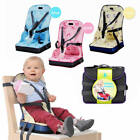 Portable Baby Chair Bag Foldable Infant Travel Booster Seat Momy Bag Kid Feeding
