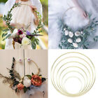 Wreath Metal Ring Decoration Home & Living Party Accessories Garden Decor
