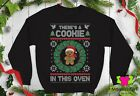 Theres A Cookie In This Oven Sweater Expecting mom Unisex Crewneck Sweatshirt