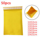 50PCS PE Padded Bubble Envelope Bags Postal Wrap Bag Packaging Bags Holders New